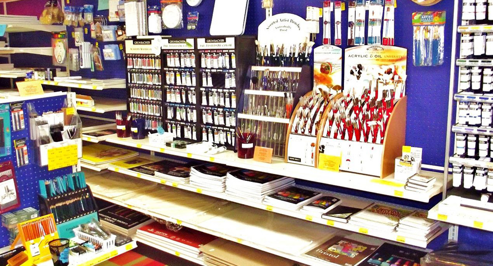 Art supplies svilands escanaba michigan for Homedepot colorsmartbybehr com paintstore